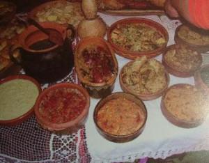 праздничный обед по сербски