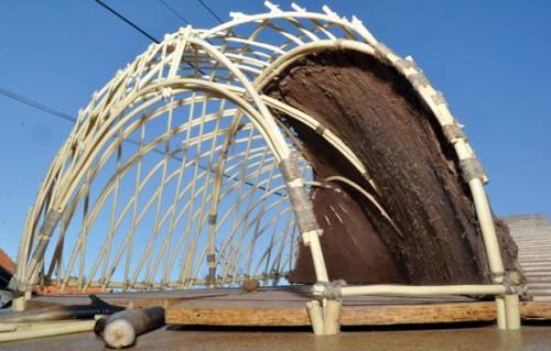 Лепенски Вир Принципы куполообразного строительства