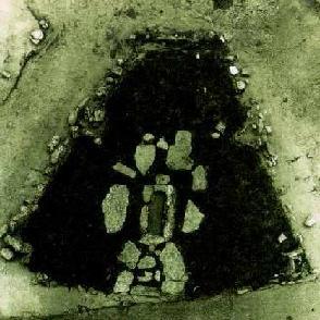 Лепенски Вир: остаток жилища