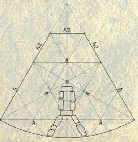 Лепенски Вир: схема жилища