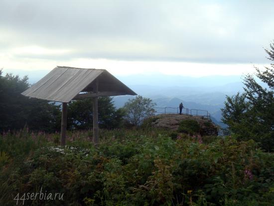 Смотровая площадка на Старой Планине