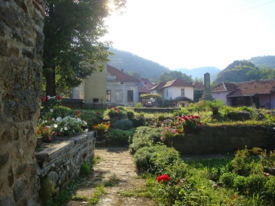 Доня Каменица, возле церкви