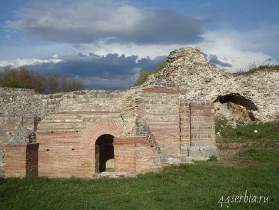 Сербия на фото: Древнеримский город Феликс Ромулиана