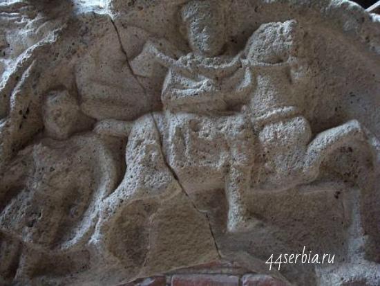Древнеримский город Феликс Ромулиана: фрагмент барельефа