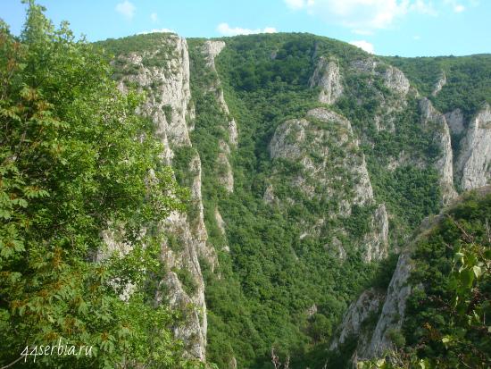 Сербия в фотографиях: Лазарев каньон эхо