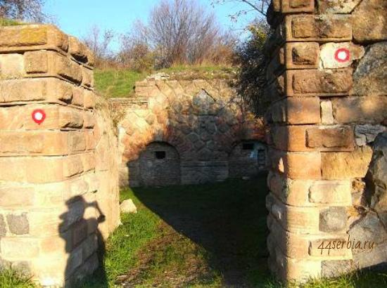 Сербия, город Заечар: сербская крепость 1833 год
