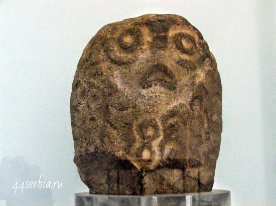 Музей первобытной культуры Лепенски Вир: рыбоголовый идол