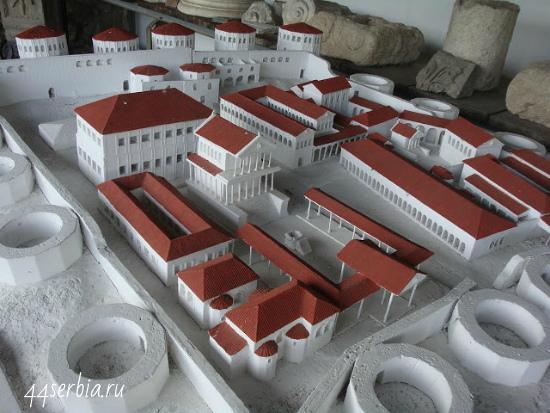 Древнеримский город Феликс Ромулиана - макет