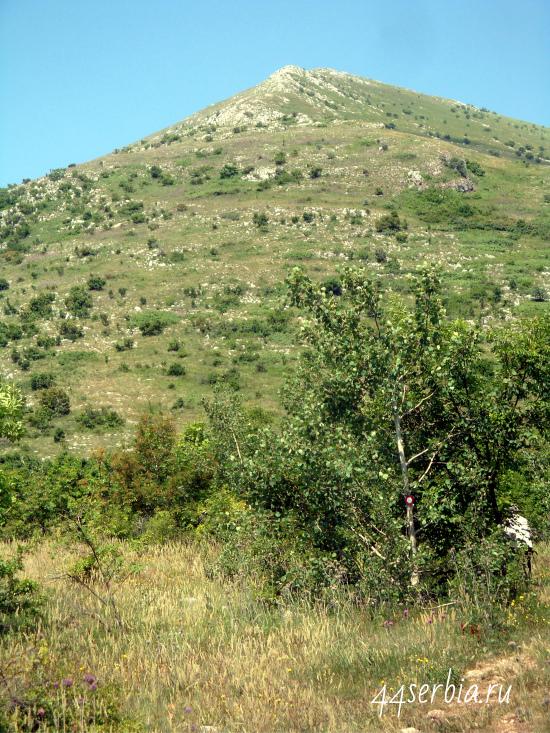 Гора пирамида Ртань