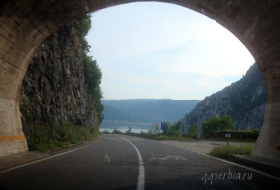 Сербия на фото: тоннель