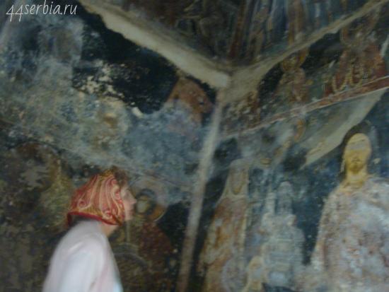 Сербия, фрески старой церкви