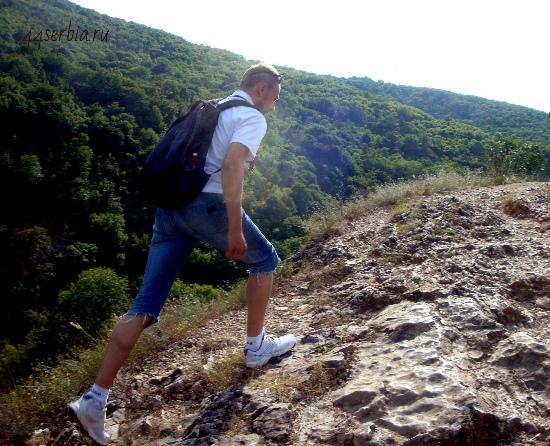 Сербия фото: Сокобаня, прогулочные маршруты