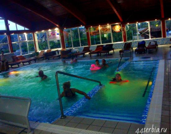 Сокобаня, Соко Терме, 1-й бассейн (самый тёплый)