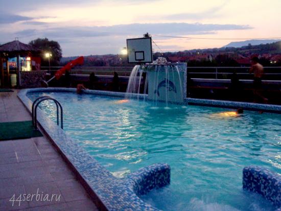 Сокобаня, Соко Терме, 3-й бассейн под открытым воздухом
