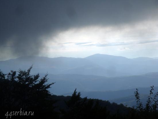 Стара Планина в облаках