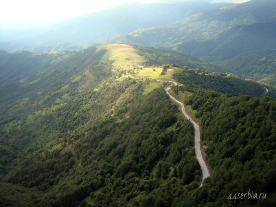 Стара Планина: взгляд с видиковца