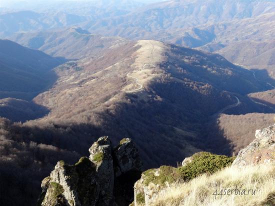 Сербия: горный массив Стара Планина