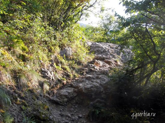 Сокобаня, прогулочная зона