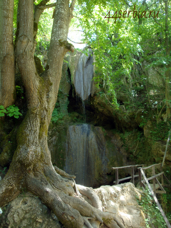 "Водопад ""Рипалька"" в Сокобане"