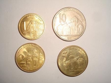 Какие деньги в Сербии