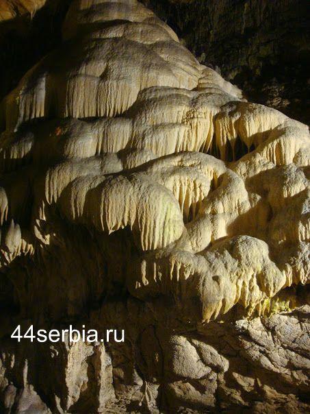 Лазарева пещера изнутри