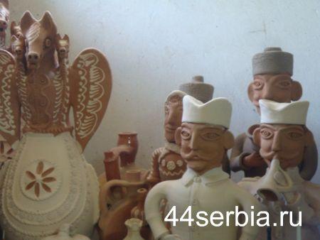 Гончарная мастерская в Сербии