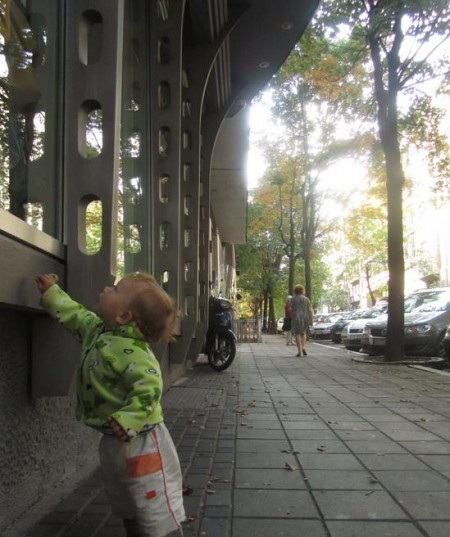 Малыш в Белграде