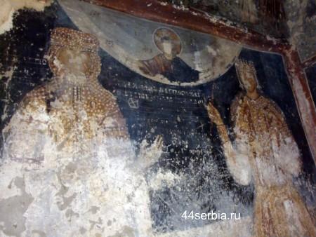 Фрески сербских церквей