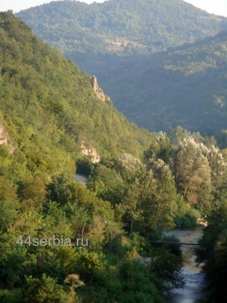 Дорога в Доньа Каменица