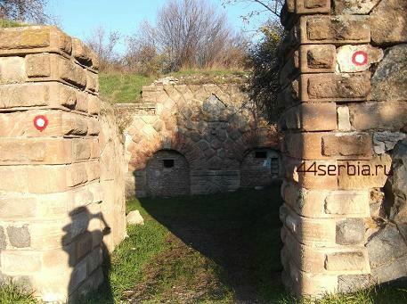 Старинная крепость в Заечаре