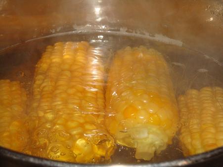 Блюда из кукурузы: варёная кукуруза