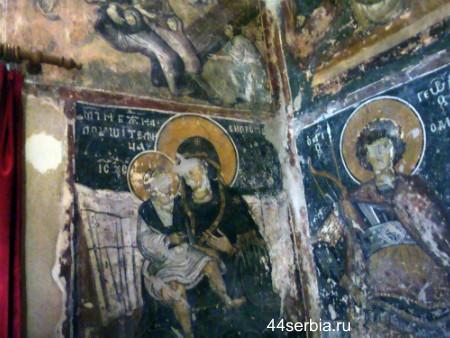 Сербия фрески