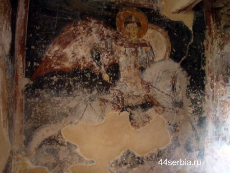 Сербские фрески, сербские церкви