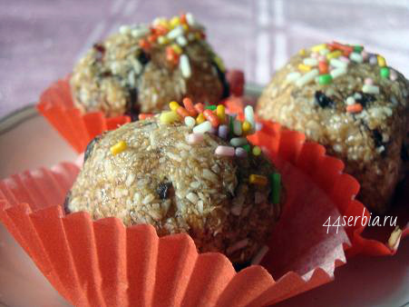 Сербские сладости: постные колачи