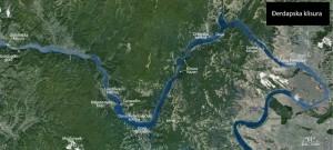 Дунайское ущелье карта