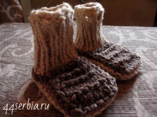 Из Сербии шерстяные носки