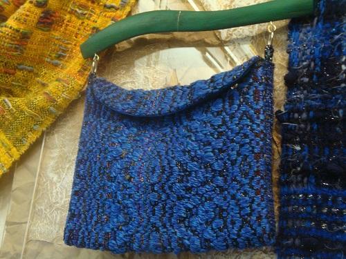 Тканые сумки и шарфы из Сербии