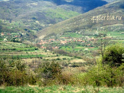 Село в Сербии