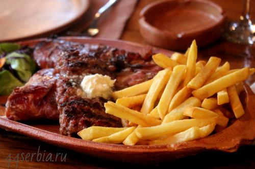 Сербские мясные блюда