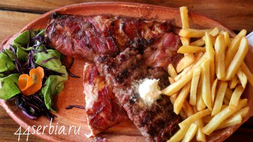 Сербский ресторан, сербские мясные блюда
