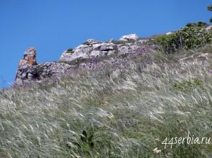 Каменные образования на горе Ртань
