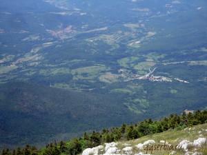 Вершина горы Ртань