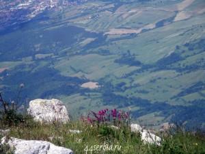 Гора Ртань панорама