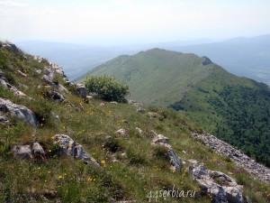 Гора Ртань фотографии с вершины