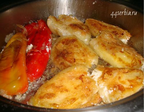 Paprika sa sirom