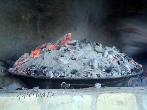Испечь Хлеб в углях