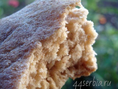 Старинный сербский хлеб