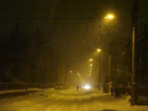 Сербия зима