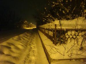 В Сербии зимой