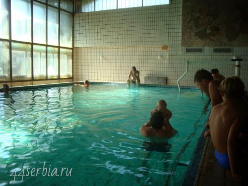 Гамзиградская баня, санатории Сербии